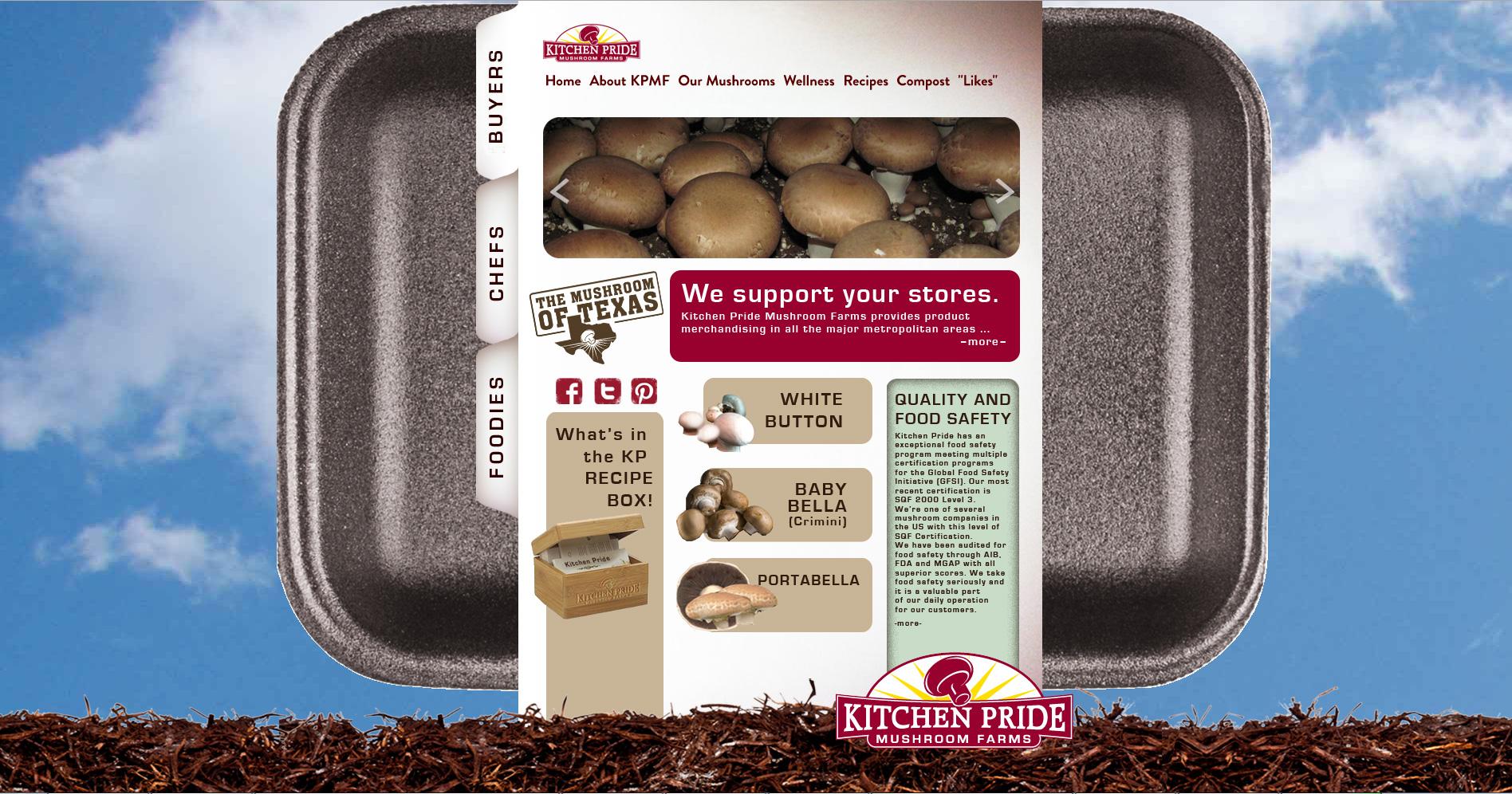 Kitchen Pride Mushrooms Portfolio Alpha Mindset